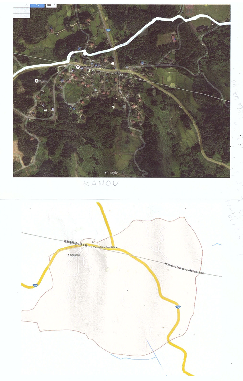 Kamou Community map